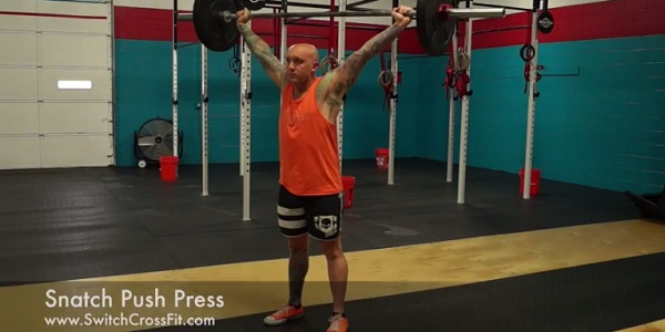 snatch-push-press